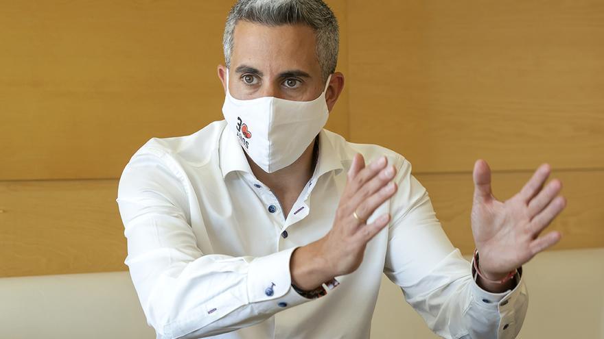 El  vicepresidente y portavoz del Gobierno cántabro, Pablo Zuloaga.