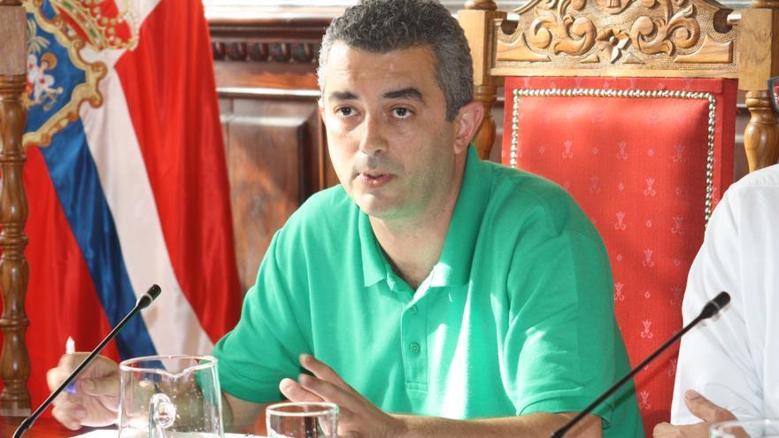 Víctor Francisco, primer teniente alcalde y concejal de Urbanismo de Santa Cruz de La Palma.
