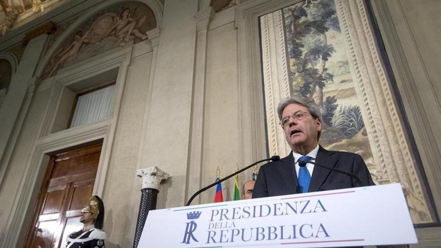 Gentiloni acelera para recibir la investidura antes del Consejo Europeo