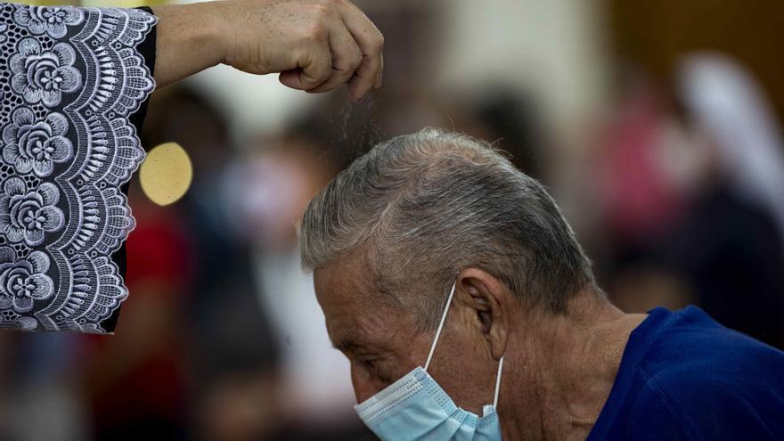 Católicos de Nicaragua celebran Miércoles de Ceniza sin su máximo símbolo