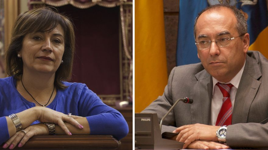 Rosa Jerez y Julio Cruz