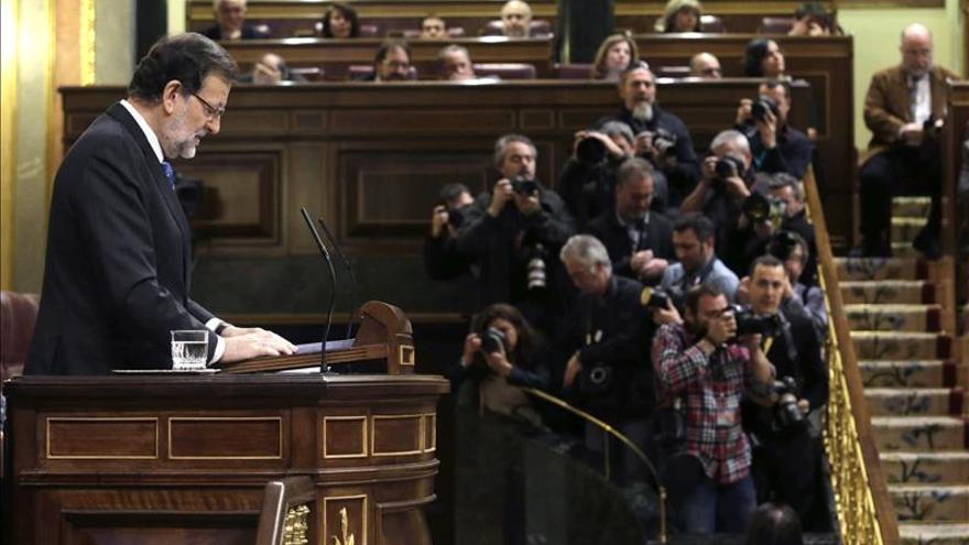 Rajoy cierra su discurso con el compromiso de acelerar la marcha a la recuperación