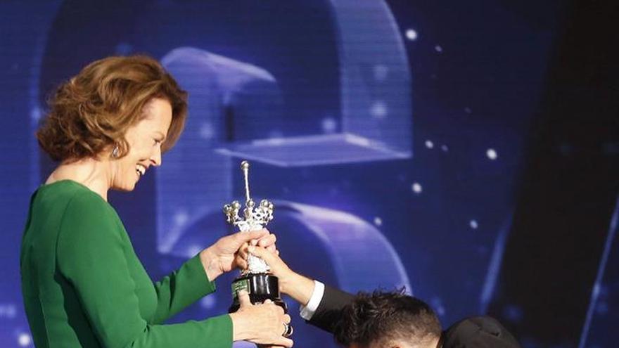 "Sigourney Weaver recuerda que vio por primera vez ""Alien"" en San Sebastián"