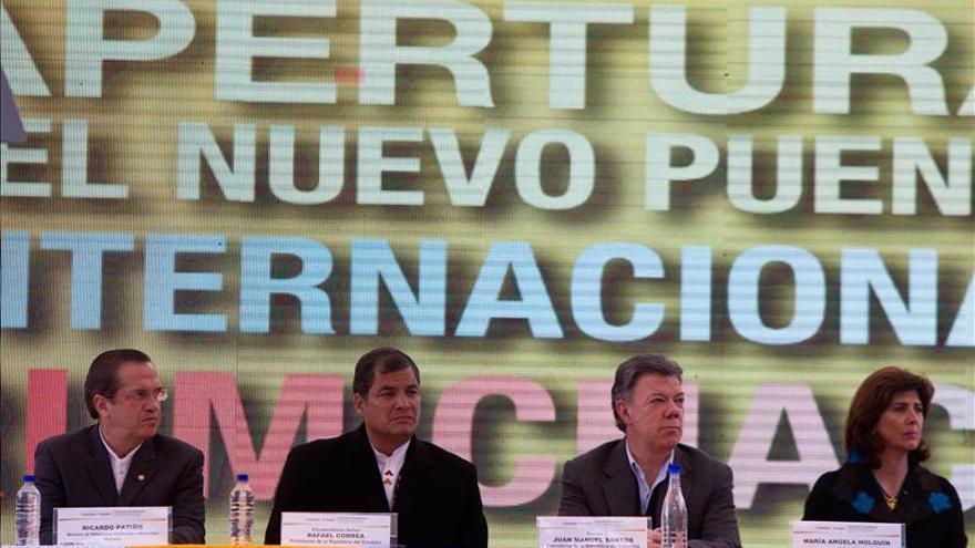 """Correa llama """"psicópatas"""" a los interesados en frenar el proceso de paz colombiano"""