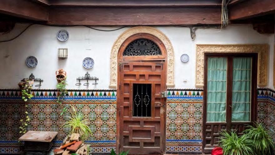 Una de las actuaciones del Consorcio en el patrimonio residencial del Casco Histórico