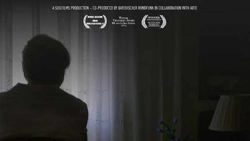 """Cartel de la película alemana """"Franco´s children"""" sobre el robo de bebés en el Franquismo y en la democracia © Soilfilms"""