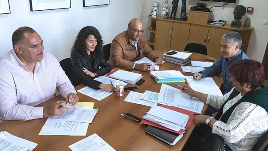 Consejo de Gobierno del Cabildo de Lanzarote, celebrado este jueves.