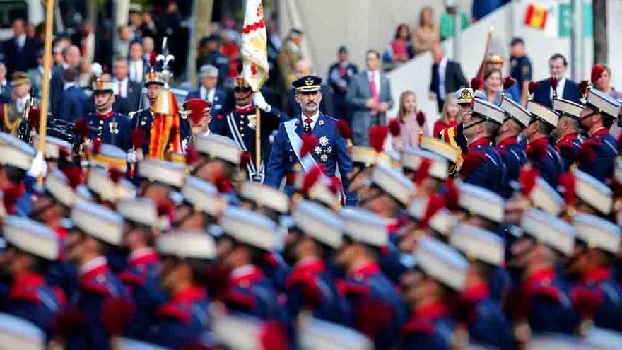 El desfile de la Fiesta Nacional (37.4%) pega subida y arrasa en La 1