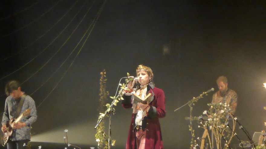 Bosco en la presentación de su disco `Paradiso´ en el Teatro Circo de Murcia / E. R.