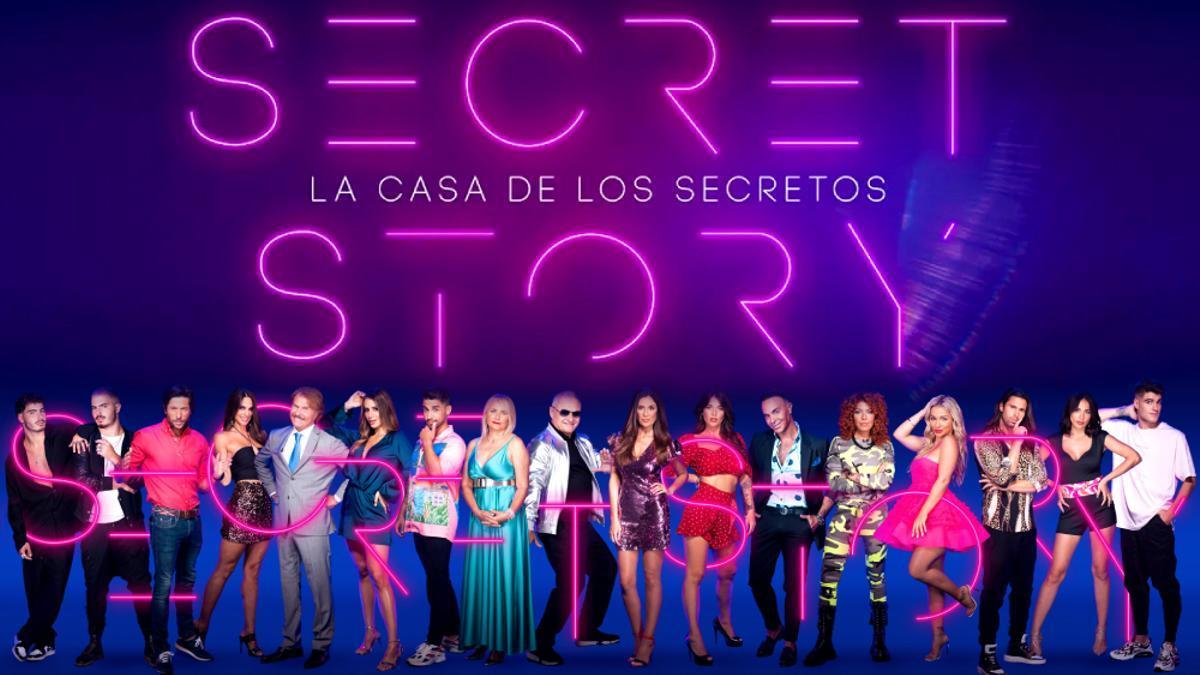 Los concursantes de 'Secret Story'