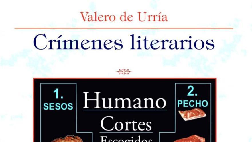 Portada de la reedición del libro 'Crímenes literarios' que verá la luz en pocas semanas