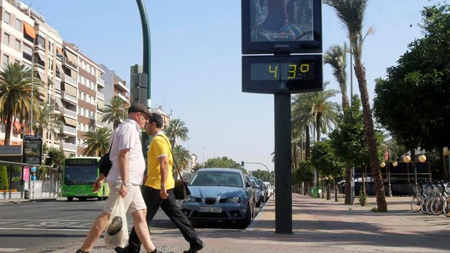 Las altas temperaturas ponen en alerta naranja a ocho provincias