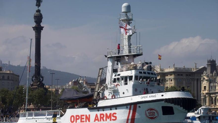 "Open Arms no ve ""fundamento"" en la advertencia de la Marina Mercante"