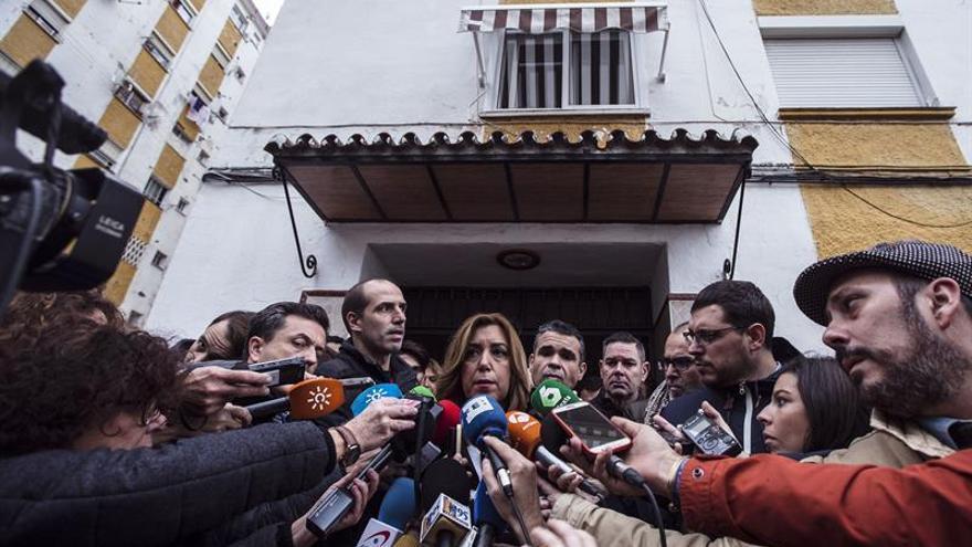 Susana Díaz afirma que el Gobierno aprobará el viernes medidas para las zonas afectadas