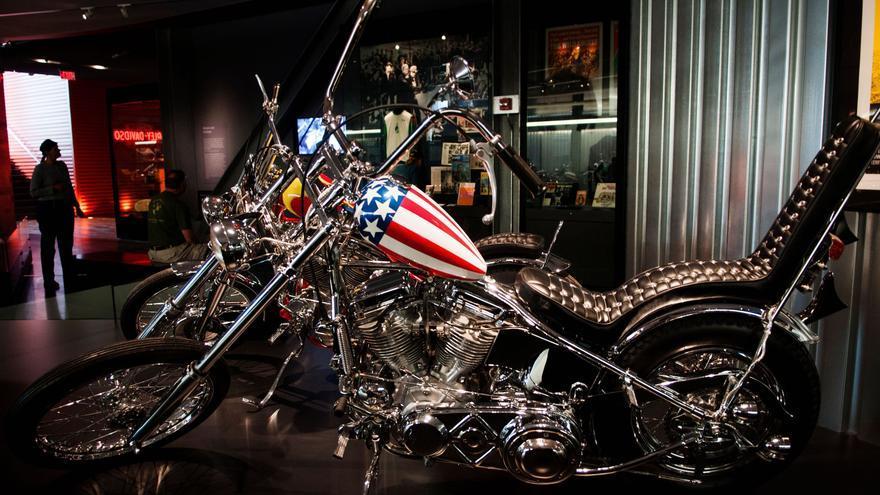 """Subastan en EE.UU. la moto del rebelde Peter Fonda en la película """"Easy Rider"""""""