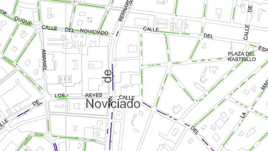 zona SER Universidad - Madrid - detalle