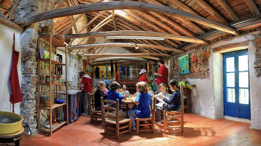 El Aula de Naturaleza Ermita Vieja-Huerto Alegre, en Granada.