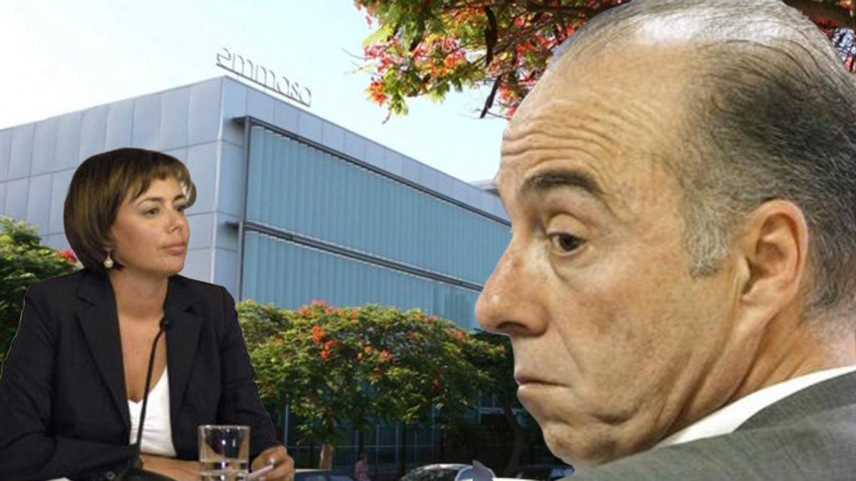 Carolina Déniz ocupó altos cargos entre 2005 y 2011, entre otros el de viceconsejera de Justicia y Seguridad, con gobiernos nacionalistas; ahora investiga a Miguel Zerolo, de ese mismo partido