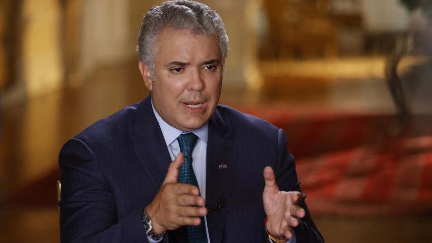 Duque pide al Congreso colombiano aprobar la ley contra el vandalismo en las protestas
