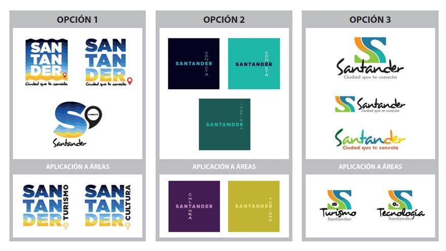 Propuestas de PSLIVE para la imagen de marca de Santander.