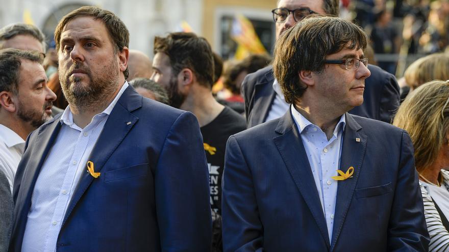 La inmunidad de Puigdemont y Junqueras no afecta al Tribunal de Cuentas, que les citó en enero con amenaza de embargo