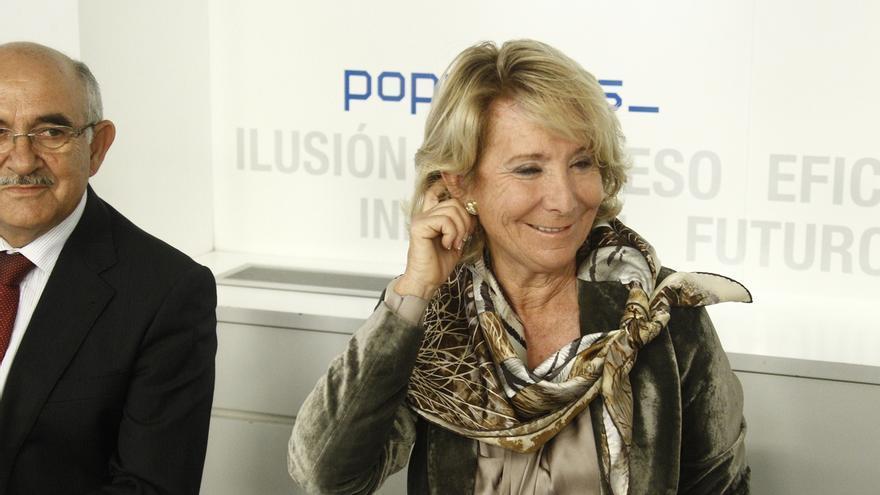 Esperanza Aguirre cree que Mariano Rajoy es el mejor cabeza de cartel para las elecciones generales