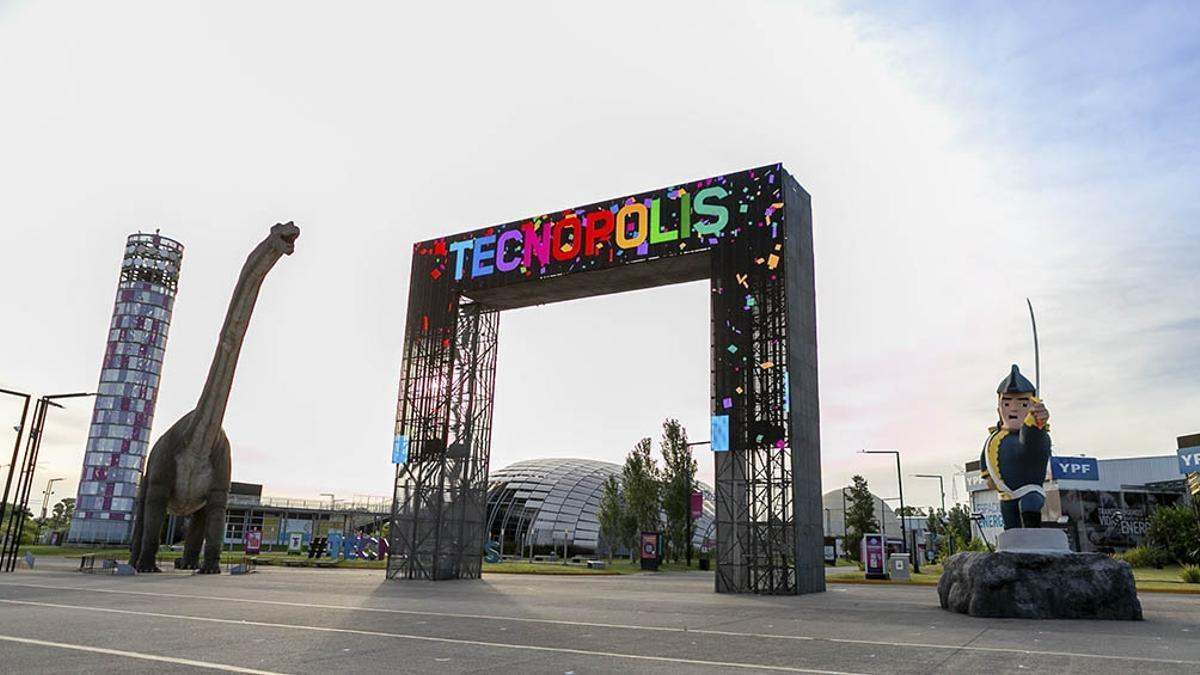 Este lunes empezó la Semana de las Juventudes en Tecnópolis