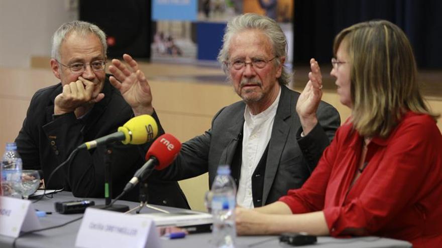 """Peter Handke: """"El proyecto de Cataluña da miedo"""""""