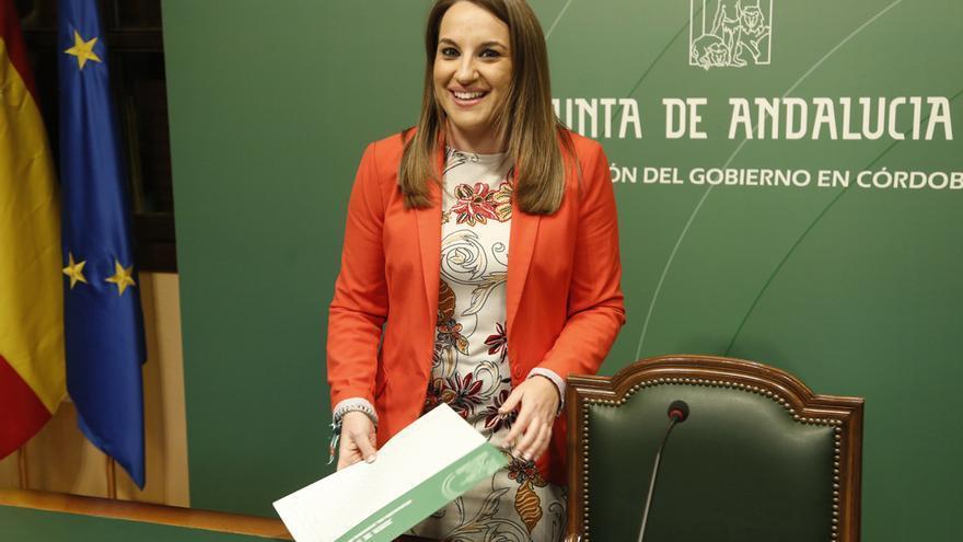 La delegada del Gobierno de la Junta en Córdoba, Esther Ruiz | ÁLEX GALLEGOS