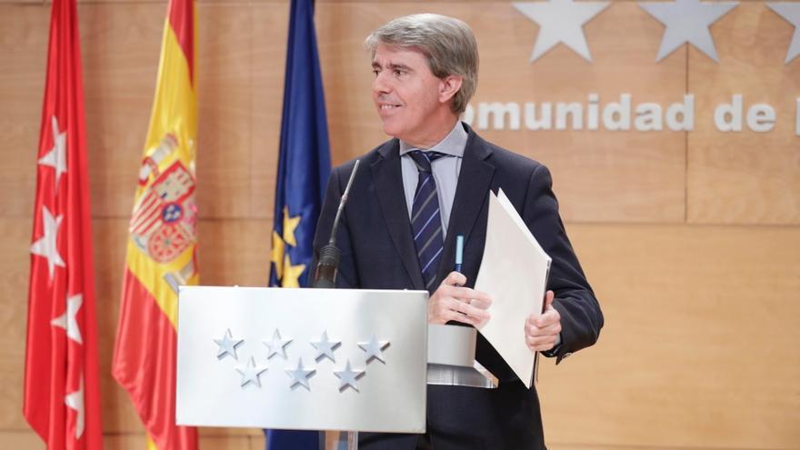 El presidente de la Comunidad de Madrid, Ángel Garrido. / Comunidad de Madrid