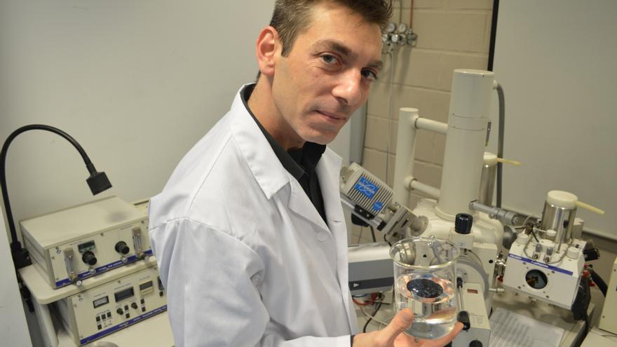 Israel Gago, alumno del Grado en Arquitectura Naval e Ingeniería de Sistemas Marinos de la UPCT