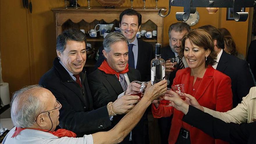 González y Barcina celebran el 290 aniversario del municipio de Nuevo Baztán