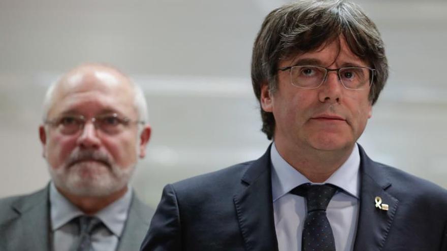 El expresidente de la Generalitat Carles Puigdemont .