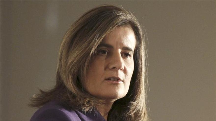 Báñez dice que la flexibilidad permitió salvar los empleos en la limpieza de Madrid