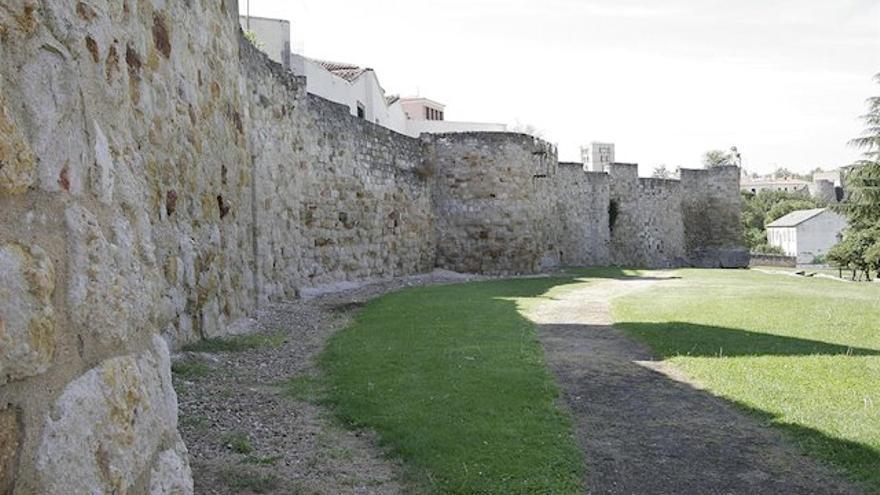 La muralla de Zamora, en una imagen de archivo.