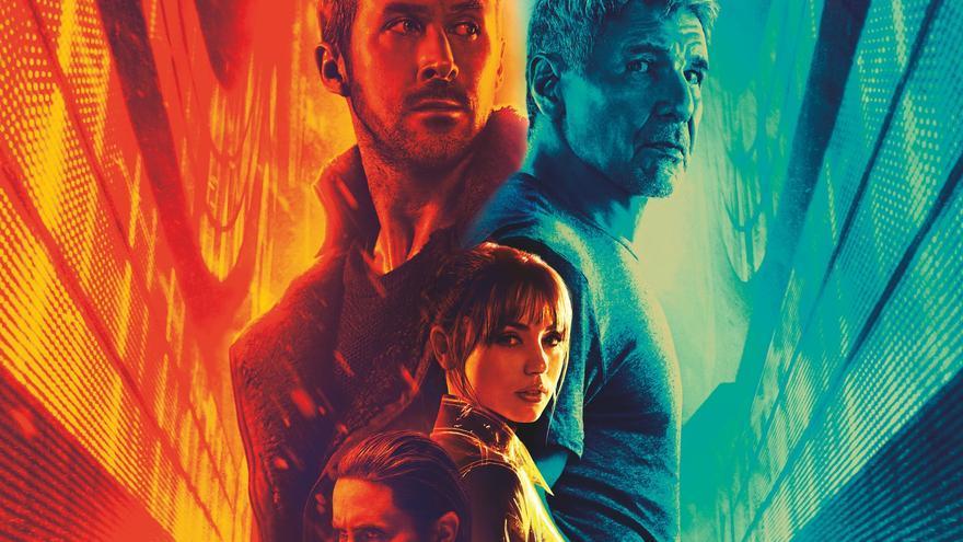 Póster comercial de Blade Runner