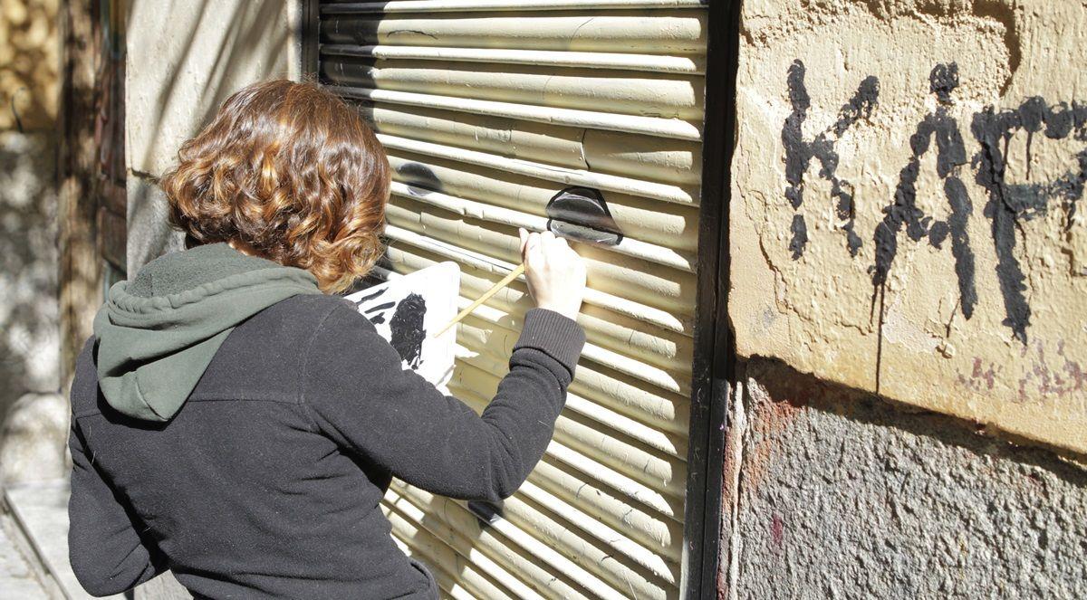 Chincheta, al comienzo de su obra en la calle Velarde | BANDIZ STUDIO