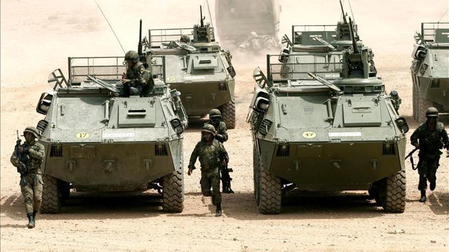 Tres muertos en una explosión en el cuartel de la Legión de Almería
