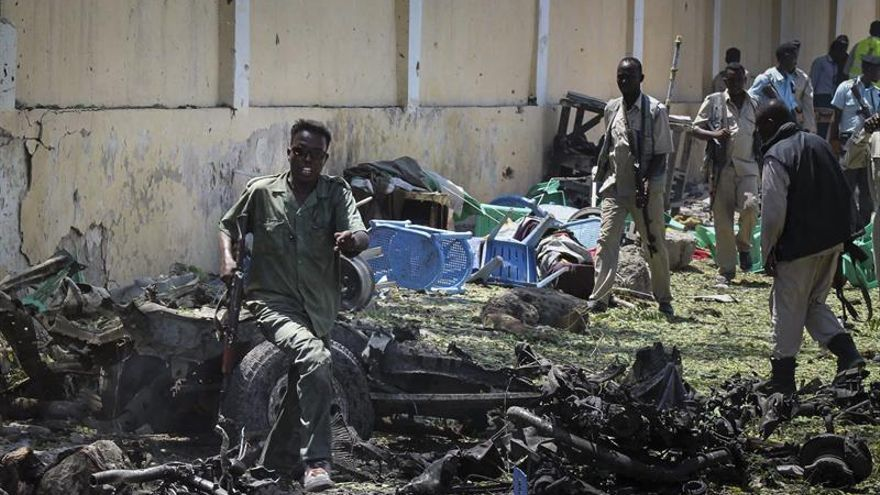 EE.UU. mata a 150 yihadistas de Al Shabab en Somalia en un ataque aéreo