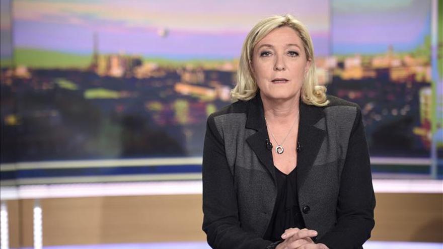 Le Pen ganaría la primera ronda de unas elecciones en Francia