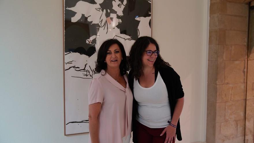 Concepción Andreu (PSOE) y Raquel Romero (Podemos)