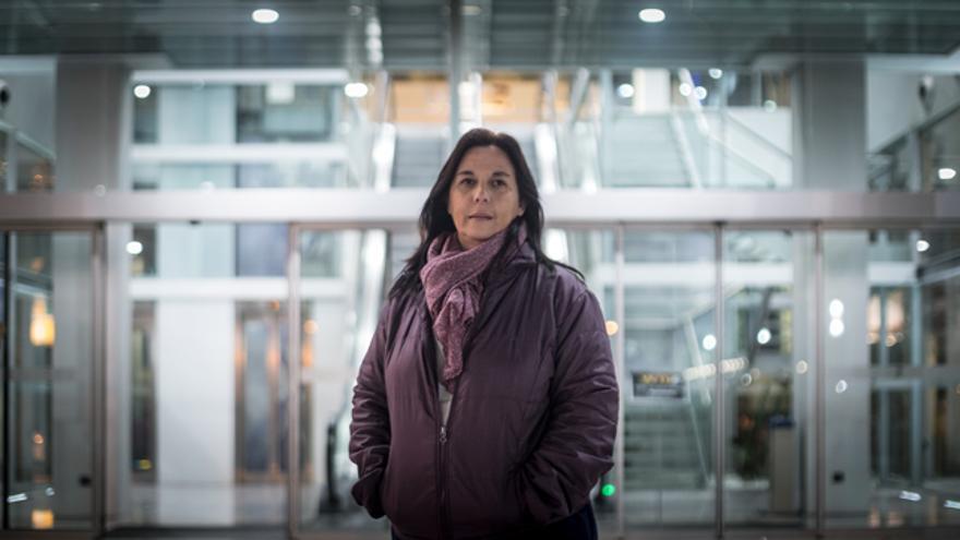 Ester Ruiz es portavoz de la asociación Doble Victimización