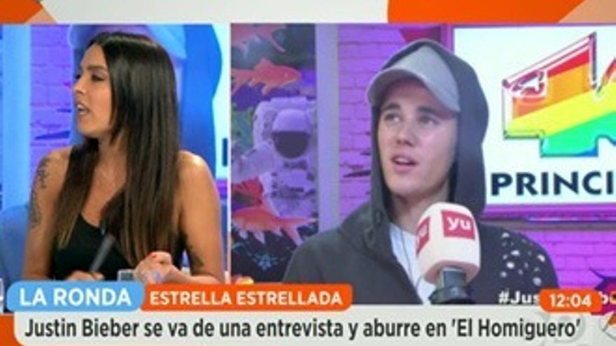 Griso, sobre Bieber: 'Hay que ser tonto para venir a promocionarse así'