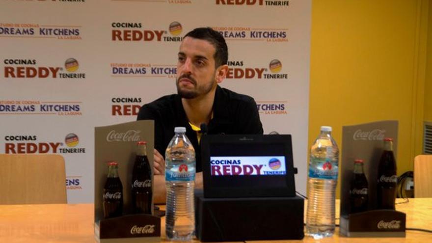 El jugador del Iberostar Tenerife, Salva Arco.