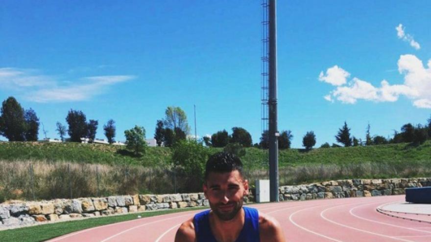 Samuel García. Foto: Club Atletismo Tenerife CajaCanarias.