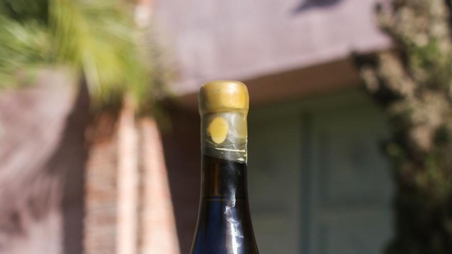 Uno de los vinos.