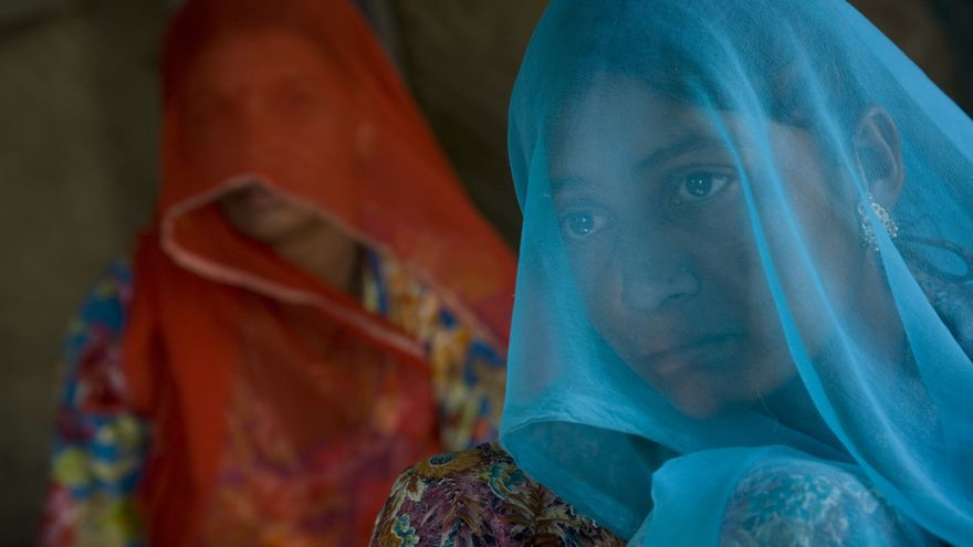 Gopal Kanwar, de Jodhpur (India), se casó a los 14 años y enviudó un año más tarde. © UNICEF/Anita Khemka