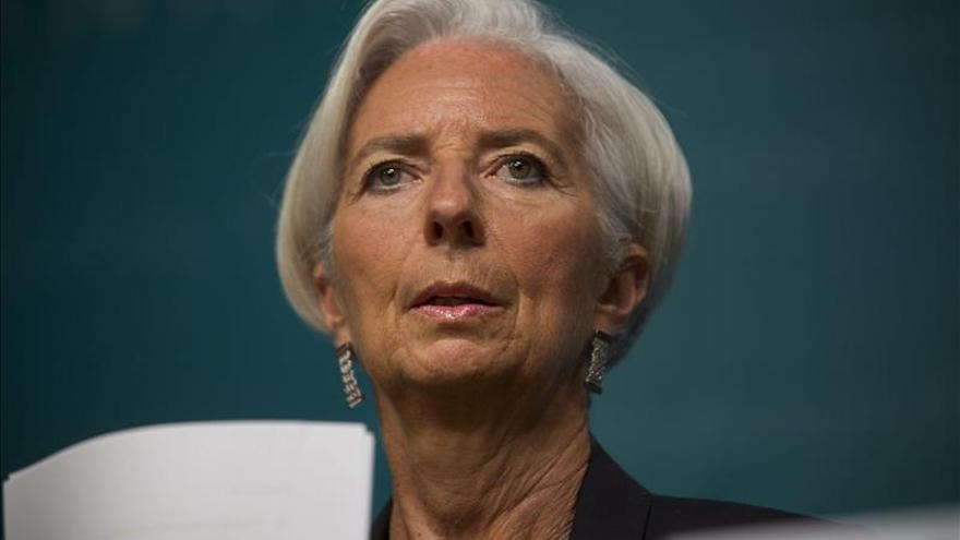 Lagarde determinada a cumplir su mandato hasta el final pese a su inculpación