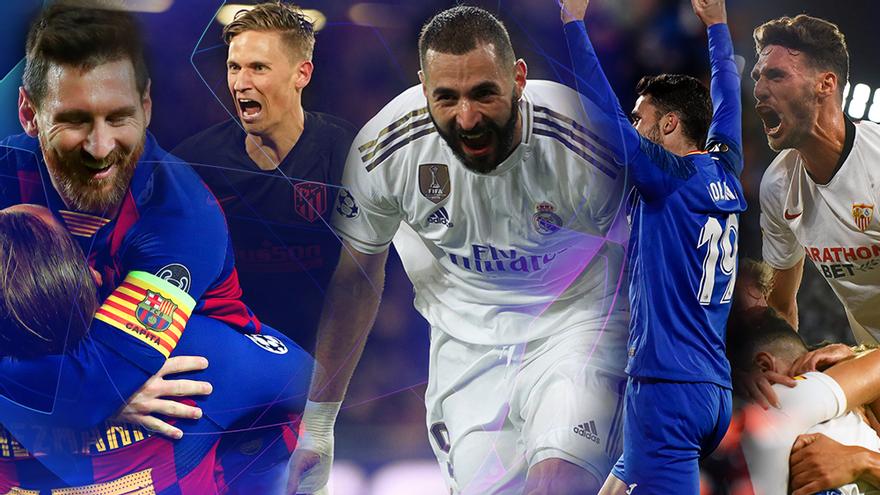 Así vuelven la Champions y la Europa League: guía para cantar todos los goles en TV