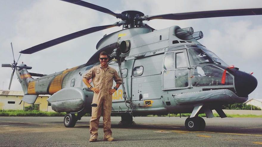 El sargento Jhonander en una foto de archivo.